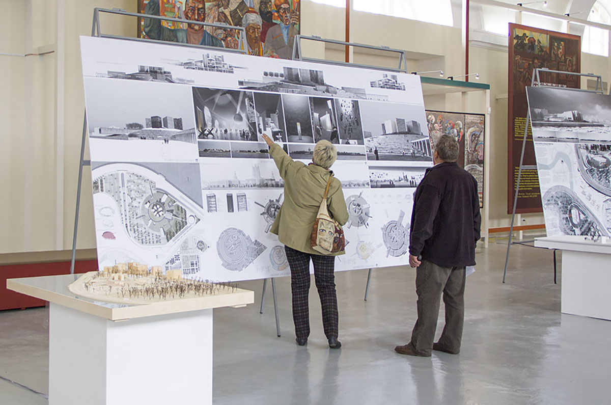 "Exhibition of projects of the new museum and exhibition complex ""Defense and blockade of Leningrad"""