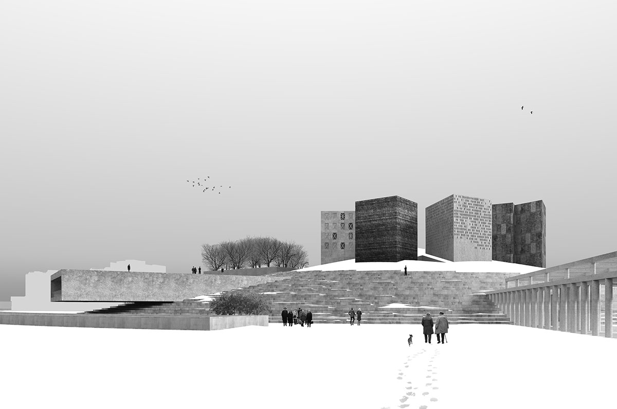 "Exhibition-competition of architectural projects for the construction of a new museum and exhibition complex ""Defense and Siege of Leningrad"""